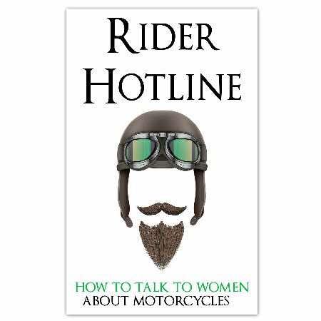 Rider Hotline man with beard