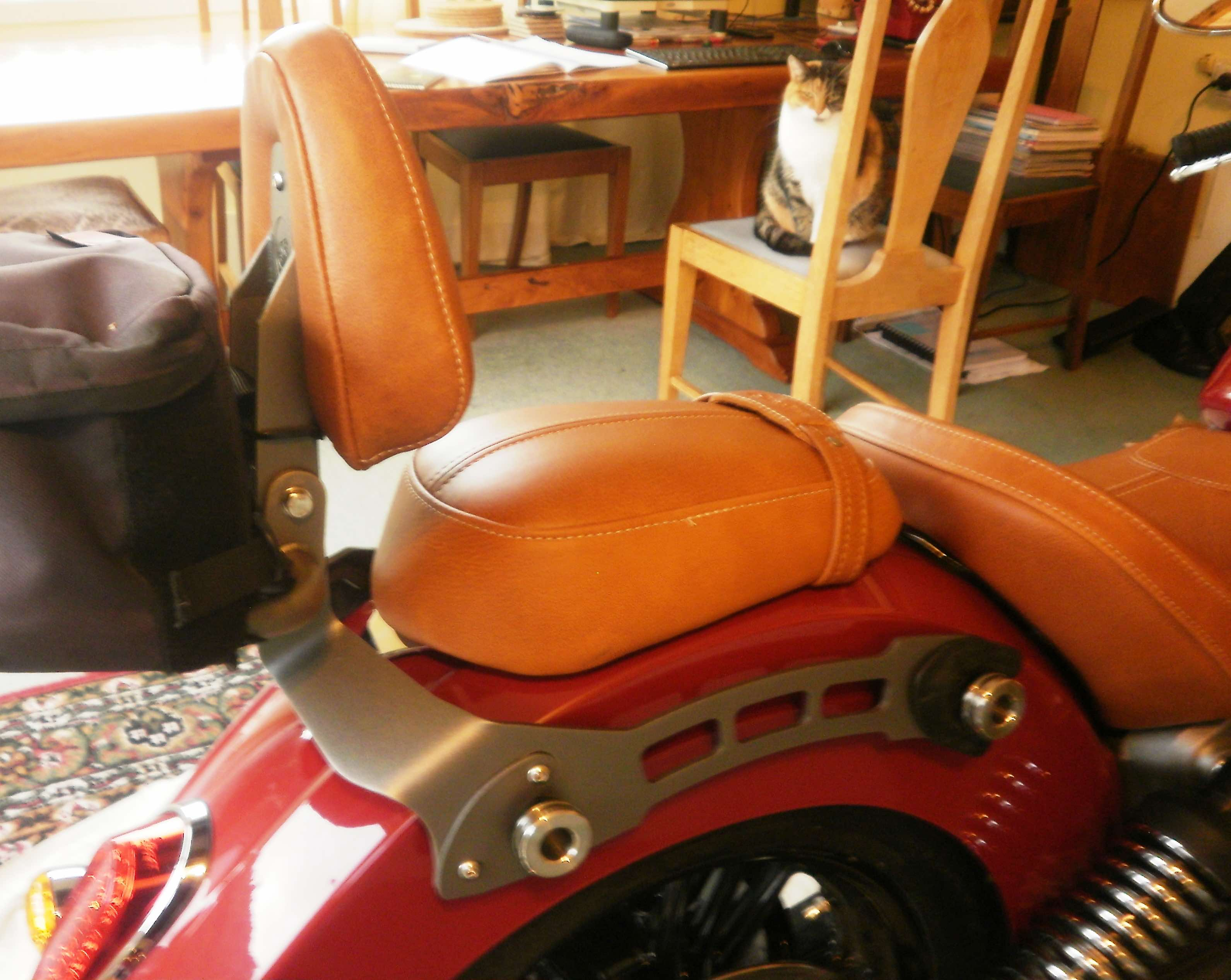 Indian motorcyles seat