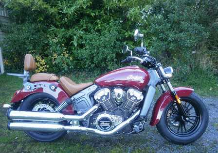 Indian-Scout-motorbike-exhaust