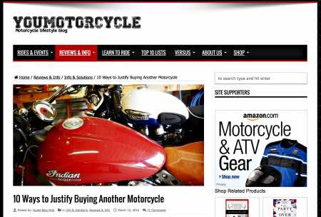Buy another motorcycle