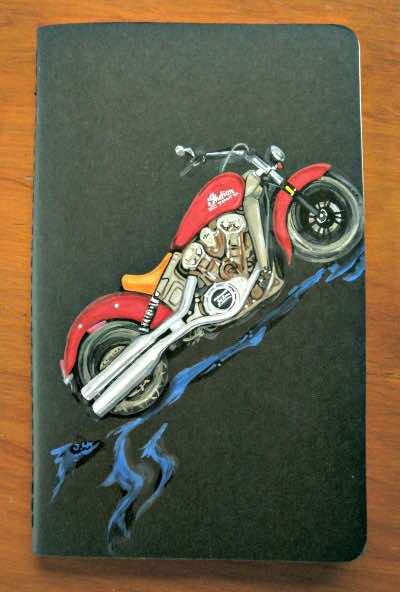 log books make great motorcycle gifts