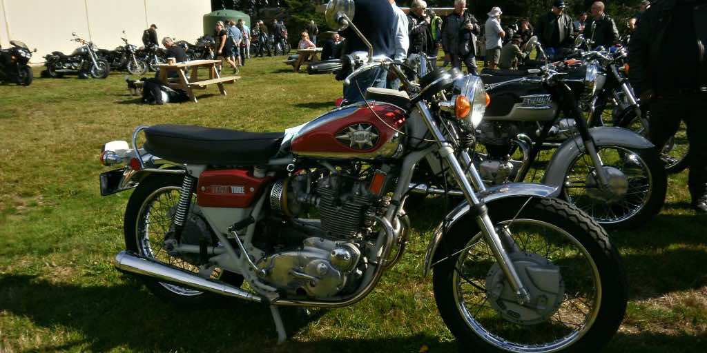 motorbike shows should be friendly