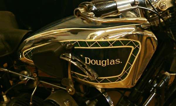 Douglas motorcycle tanks