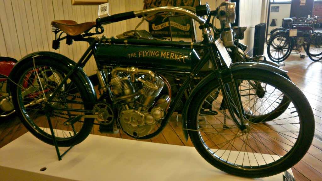 Flying Merkel vintage motorcycle
