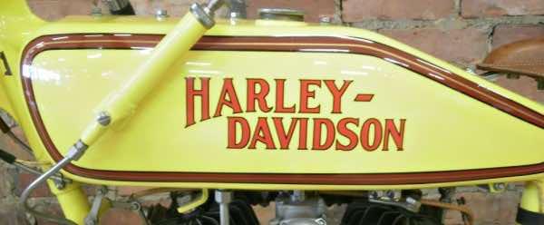 Harley motorbike tanks