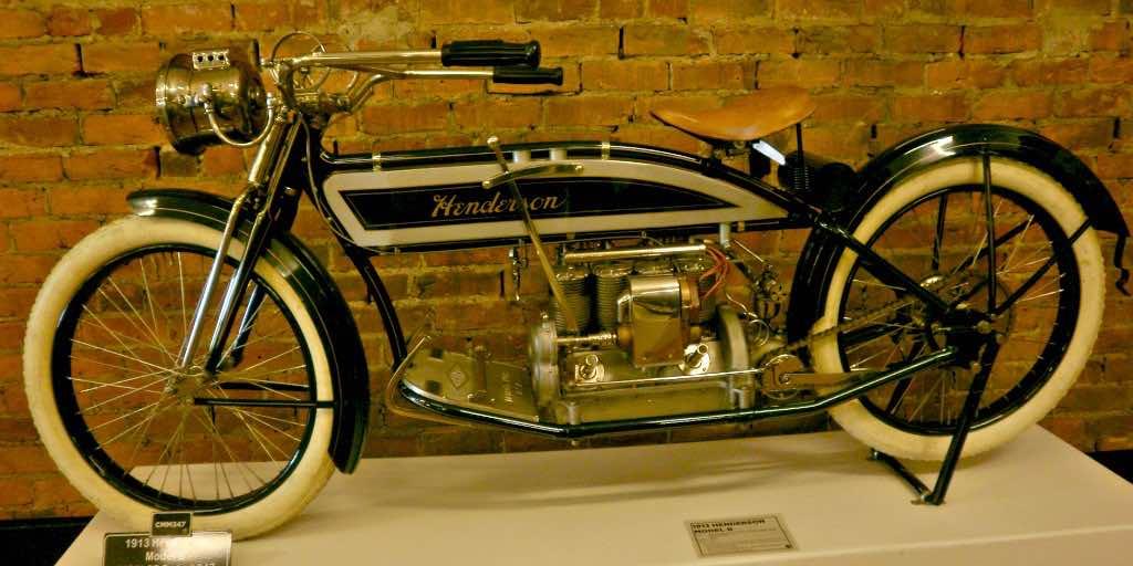 Henderson vintage motorcycle
