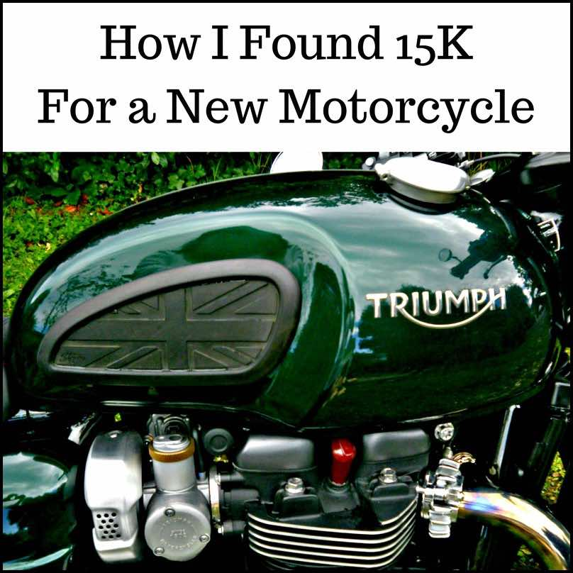 need a new motorcycle