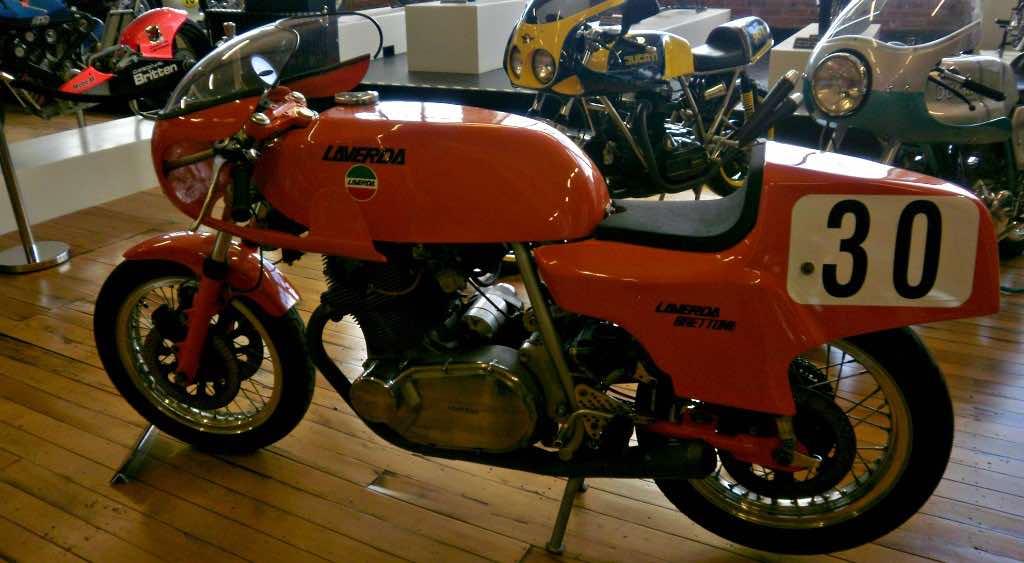 Laverda vintage motorcycle