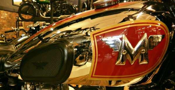 Matchless motorbike tank