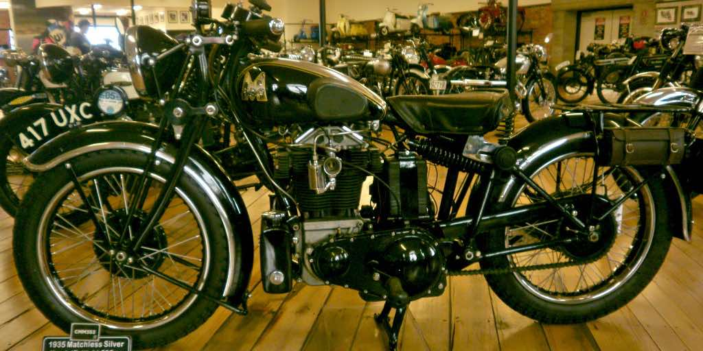 Matchless vintage motorcycle