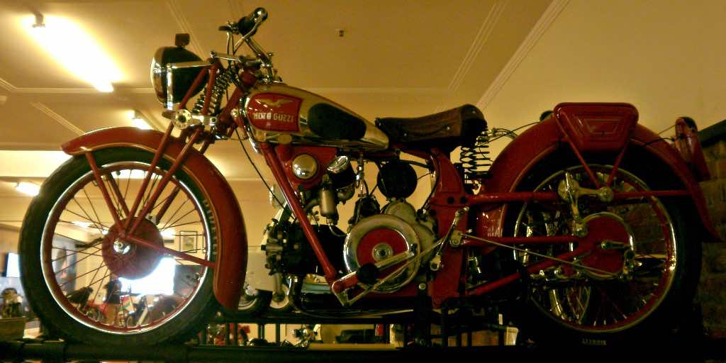 Motoguzzi vintage motorcycle