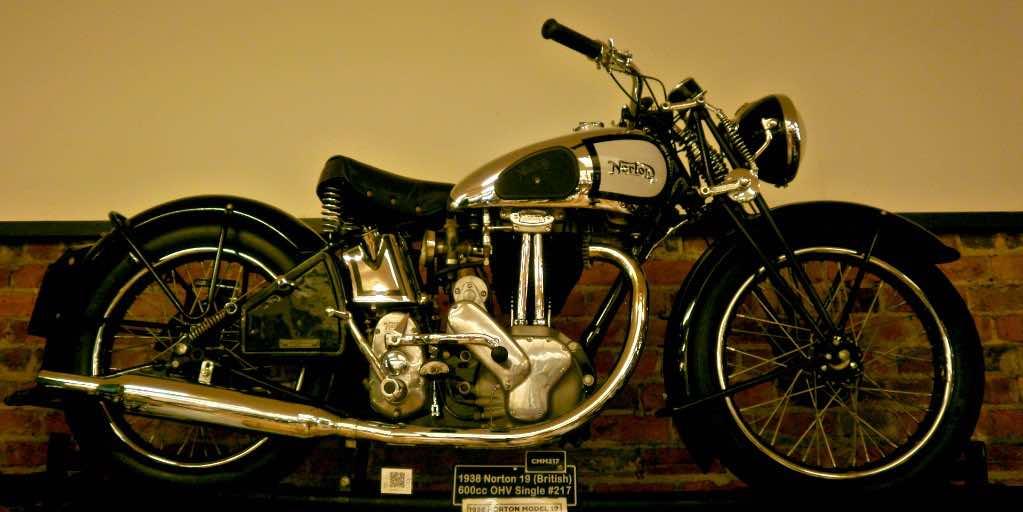 Norton vintage motorcycle