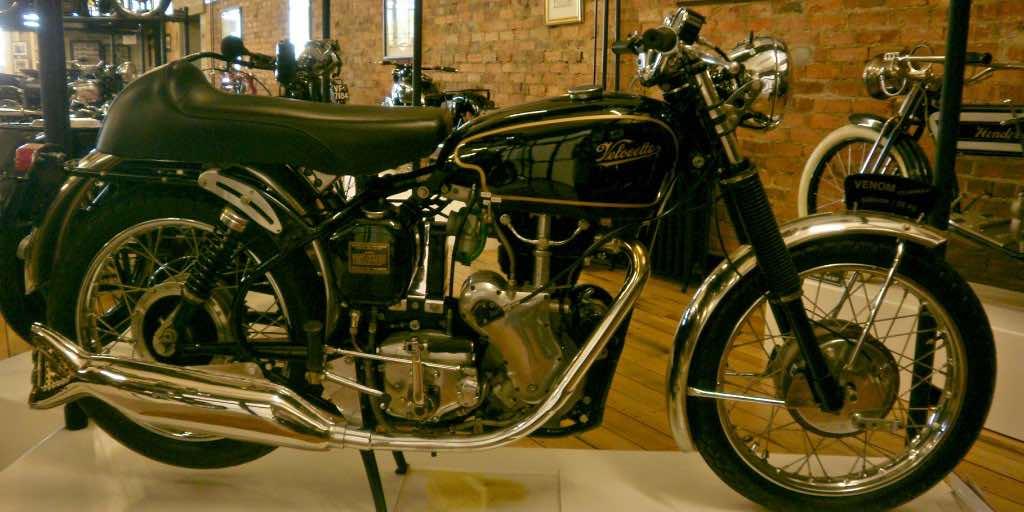 Velocette vintage motorcycle