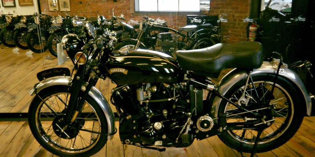 Vincent vintage motorcycle