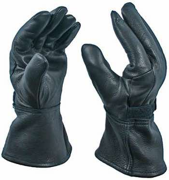 gauntlets are cool motorcycle clothing for women
