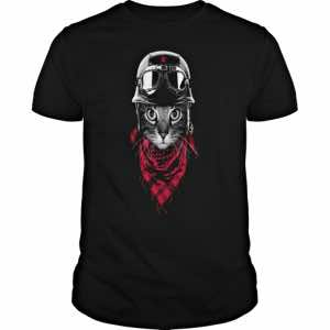 motorcycle tshirts for cat lovers