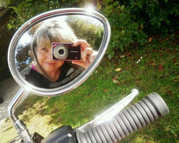biker women need selfie ideas