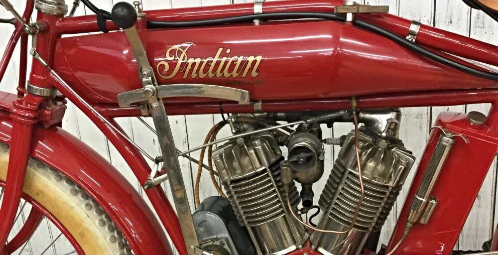 vintage motorcycles Indian Big Twin 1913 988 cc