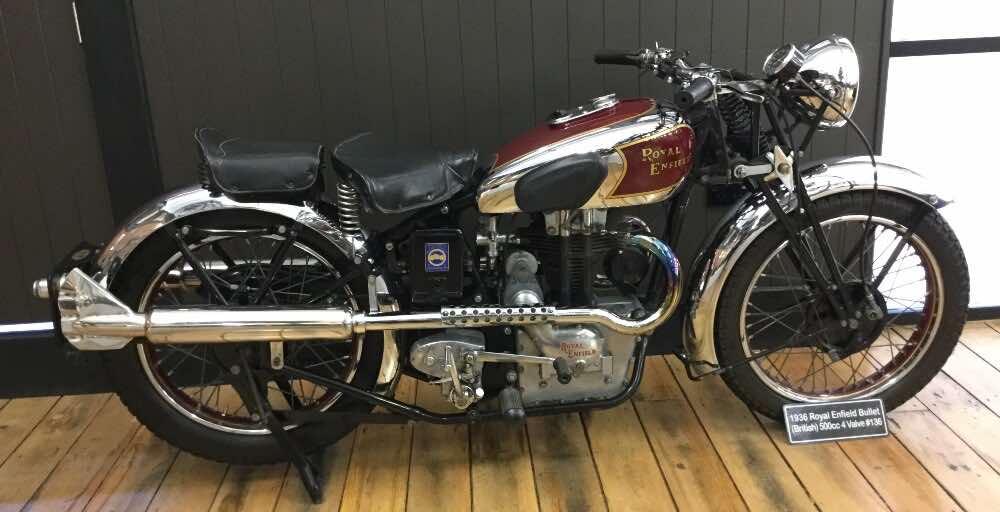 vintage motorcycles Royal Enfield Bullet 1936 500 cc 4 valve