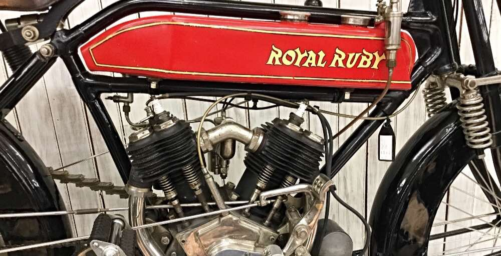 vintage motorcycles Royal Ruby 1914 770 cc UK