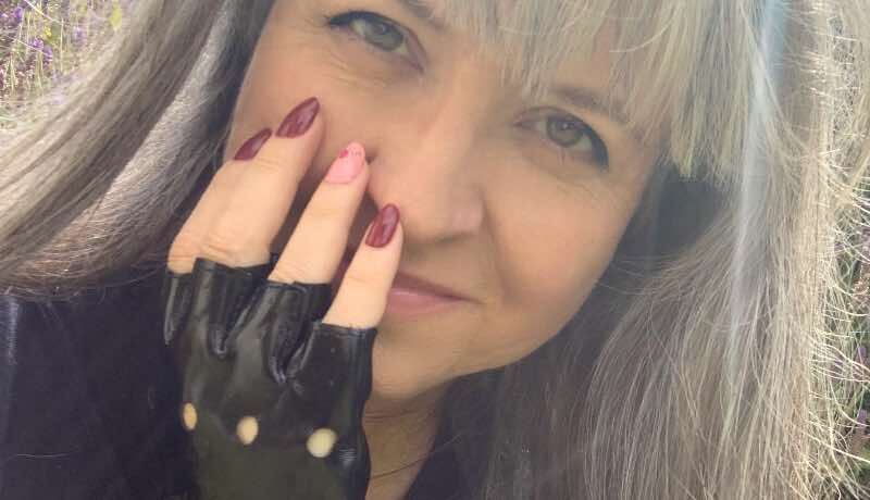 biker chick nails