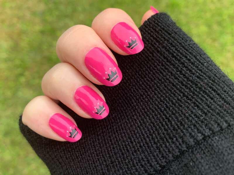 biker queen nails
